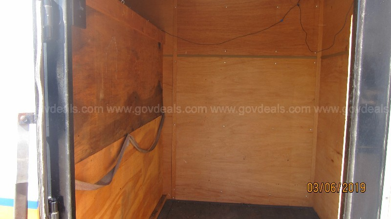 1994 Cargo Craft Enclosed Trailer 6ft X12ft