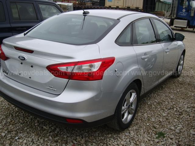2014 Ford Focus Sedan 4D SE, Mileage 114382