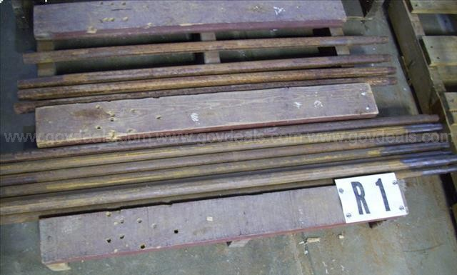 "Direct Push Rods, 36"" X 1"" (4), 48"" X 1"" (7)"