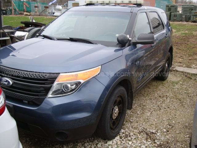 2013 Ford Explorer Police AWD, Mileage 151034 (Bad Transmission)