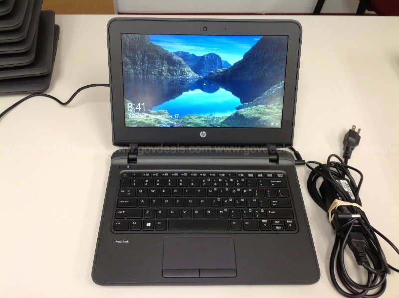 HP ProBook 11 G1 with Charger,  Qty1.  See Photos.