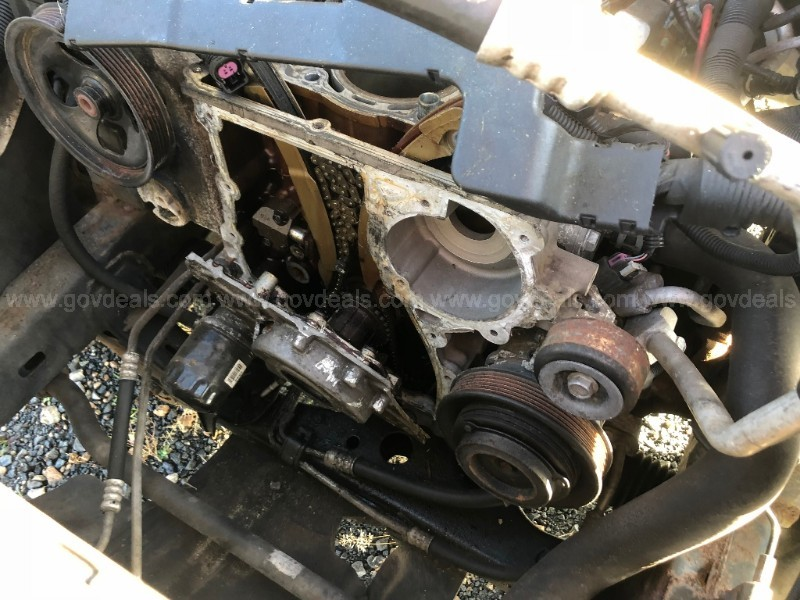 2007 Chevrolet Colorado - engine disassembled