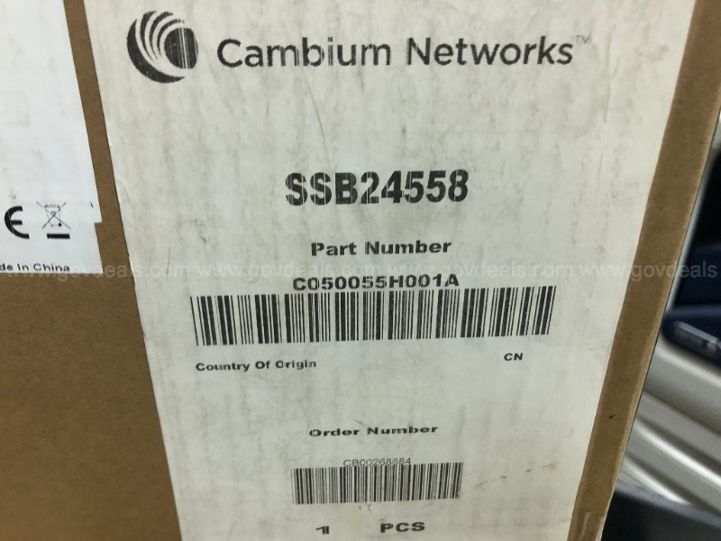 Lot of 3:  Cambium PTP 550 Integrated 5GHz 1.36Gbs Radio -  BRAND NEW