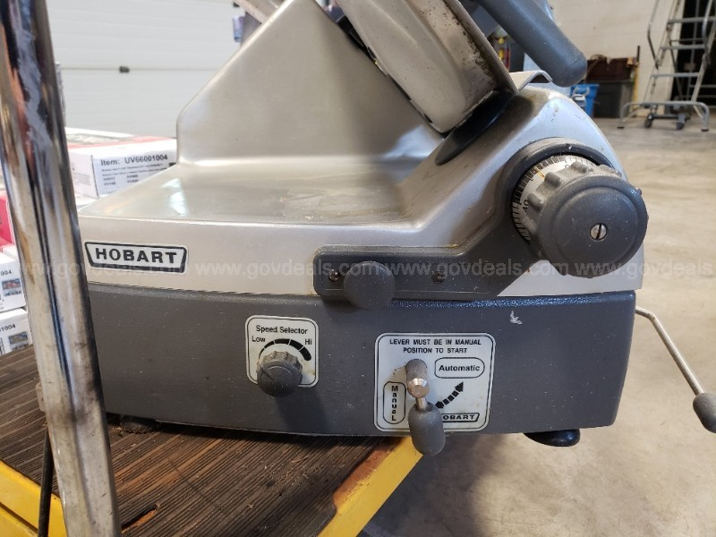 Hobart Slicer - NON WORKING FOR PARTS ONLY