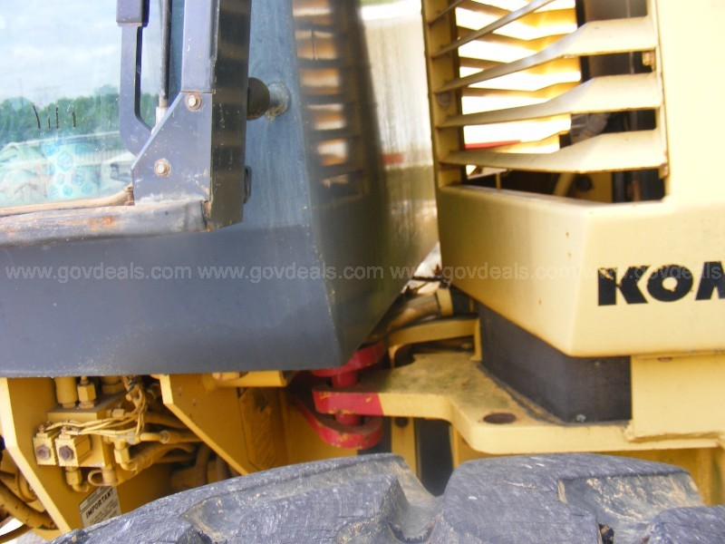 1999 Komatsu Grader Runs Great Watch Long Test Drive VIDEO