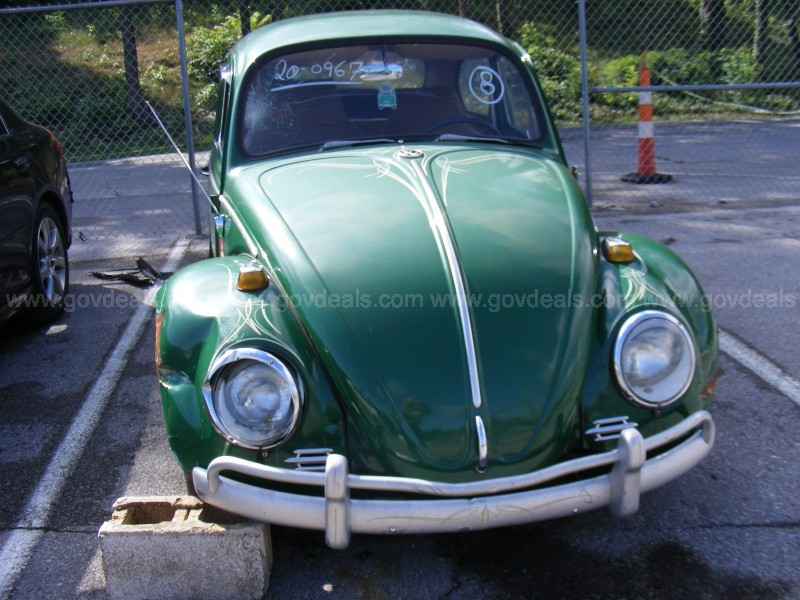 1966 Volkswagen Beetle Impounded Vehicle