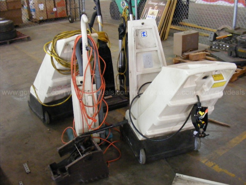 Large Lot of Vacuums Sweepers.