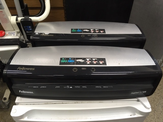 (3) FELLOWES LAMINATORS