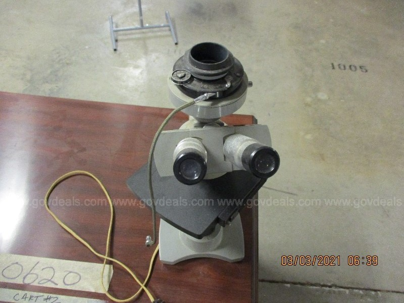 MICROSCOPE SPENCER(1), Lot 0021