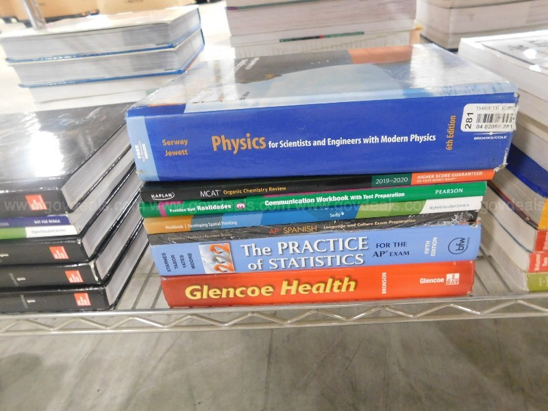 "Books: ""Text & Reference"" (09119-051)"