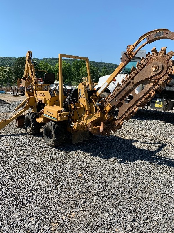 Vermeer trencher and back hoe