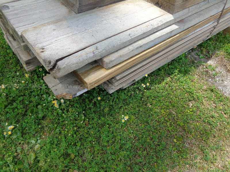 "BUNDLE OF USED BOARDS, CONSIST OF:  2"" X 10"" X 14', 2"" X 12"" X 9',  2""X 6"""