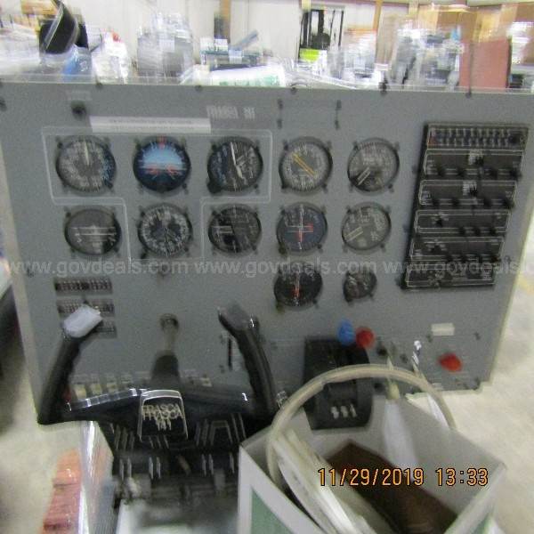LOT OF 3 FLIGHT SIMULATORS ON 7 PALLETS