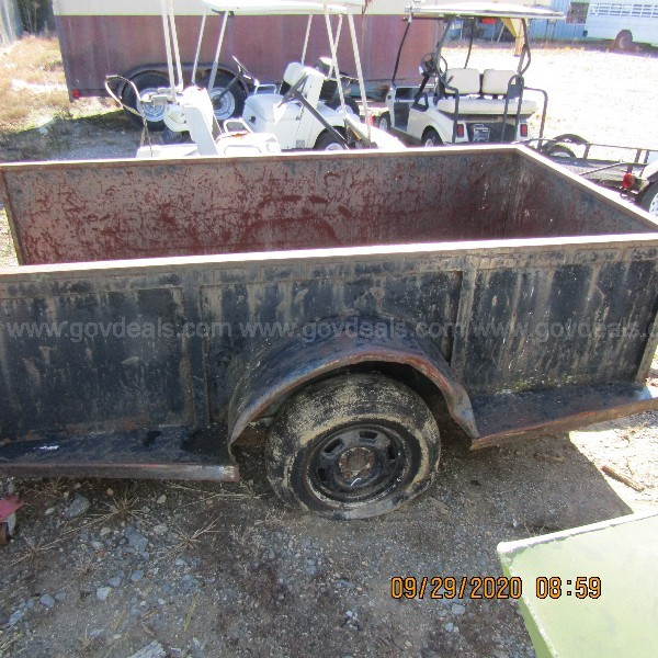 HOMEMADE 8FT UTILITY TRAILER