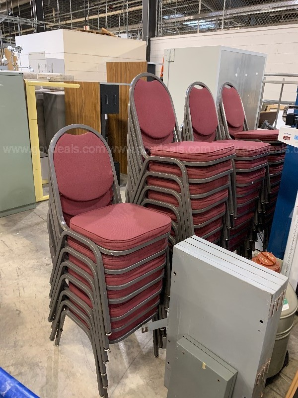 37 Stack Chairs