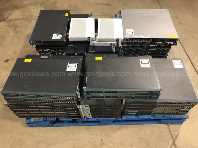 Cisco & Juniper Switches/Networking Equipment