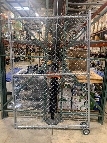 Galvanized Chain Link Fencing Materials w/ Gate
