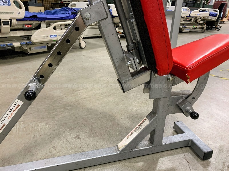 3-Way Adjustable Utility Balance Bench - Positrak