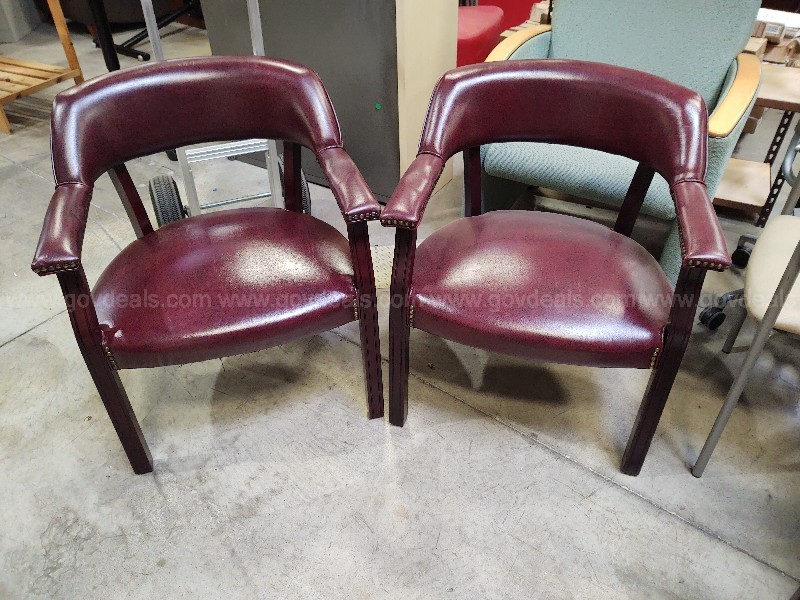 Pair of Executive Guest Chairs