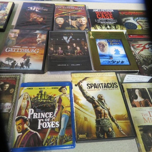 DVD Movies/TV Series - Approx. 110 DVD's