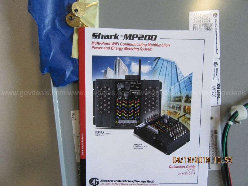 Shark MP200 Metering/Communiction System with Box Enclosure