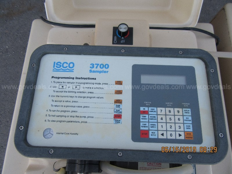 Lot of 2 ISCO 3700 Sampler