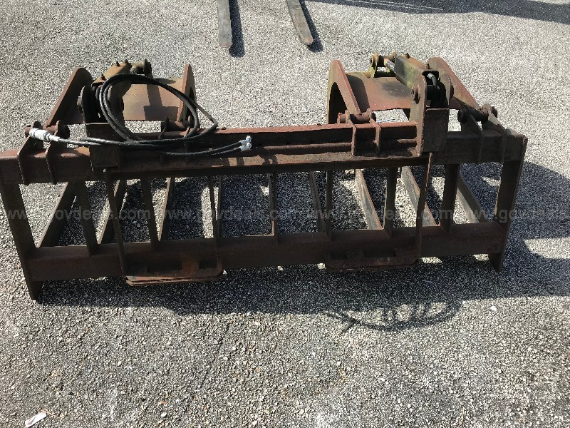 "MD State 74""  Skid steer  Hydraulic Grapple"