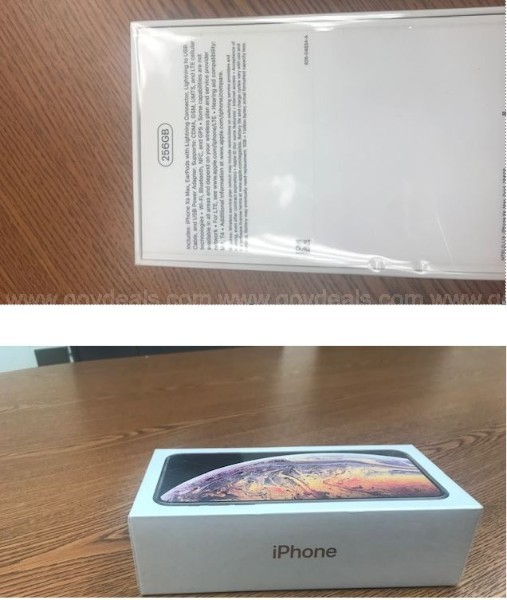 IPHONE XS MAX 256GB-GOLD IN COLOR