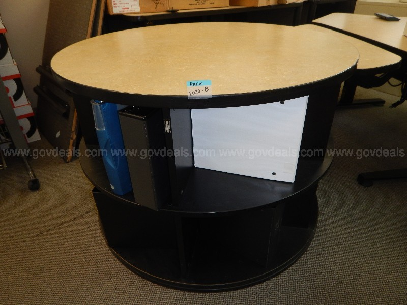 Circle Spinning Credenza