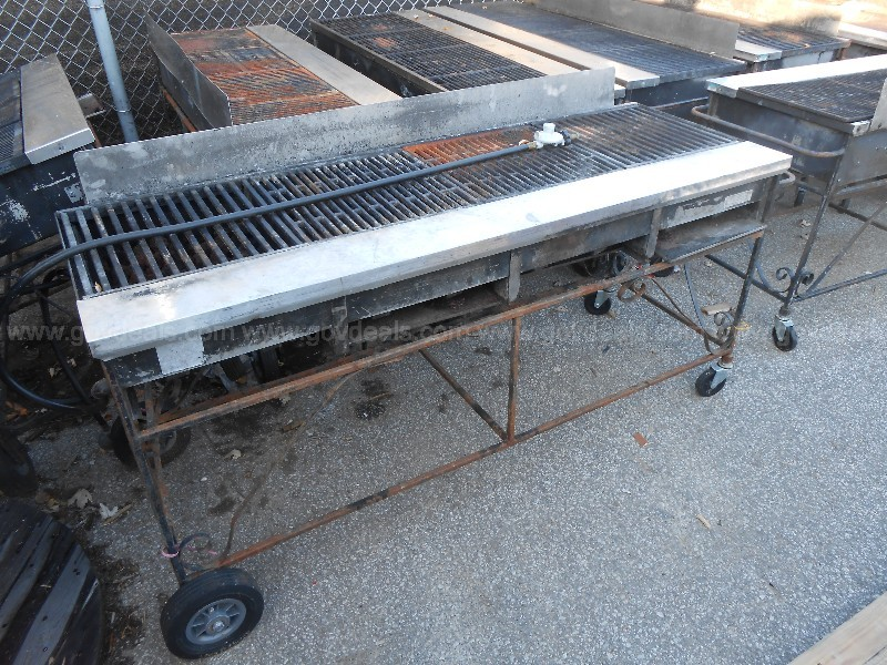 Lot of 15 - Gas Grills on Wheels