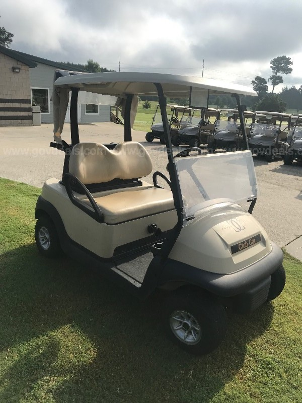 2015 48-volt Club Car Precedent Golf Cart