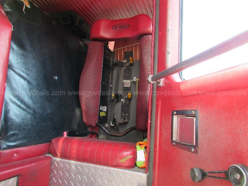 1995 Emergency One Fire Truck