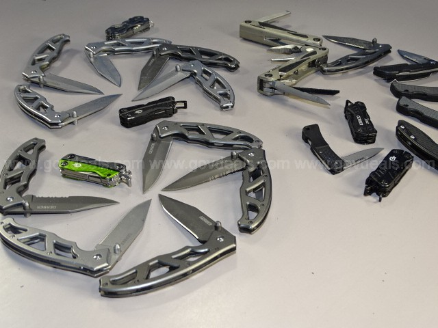 Gerber Lot – Multi-Tools & Knives - Shipping Only $10.00