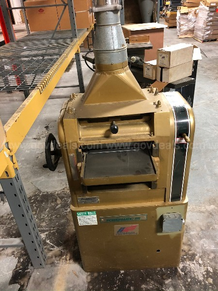 VINTAGE Planer - POWERMATIC 100