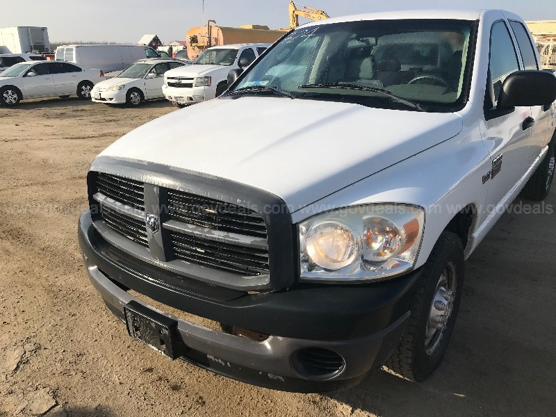 2008 Dodge Ram 2500 Quad Cab Long Bed 2WD