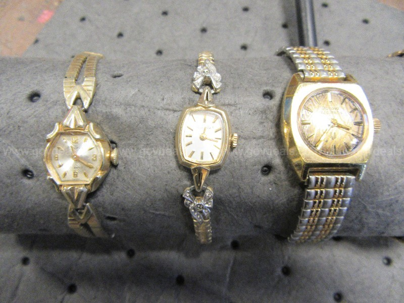 LOT OF 7 MENS AND WOMENS WATCHES (GD2663)