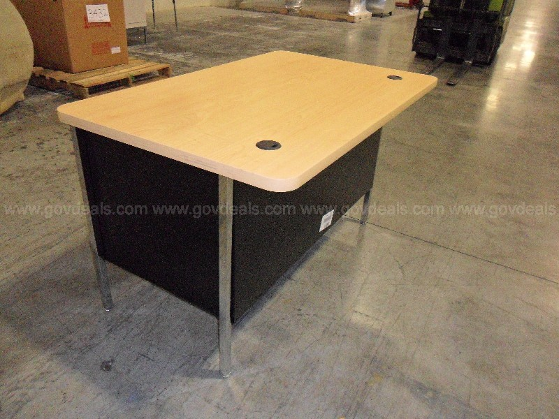 1- New Metal Desk