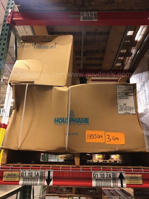 One Lot of Luminaire Lights (5 pallets)