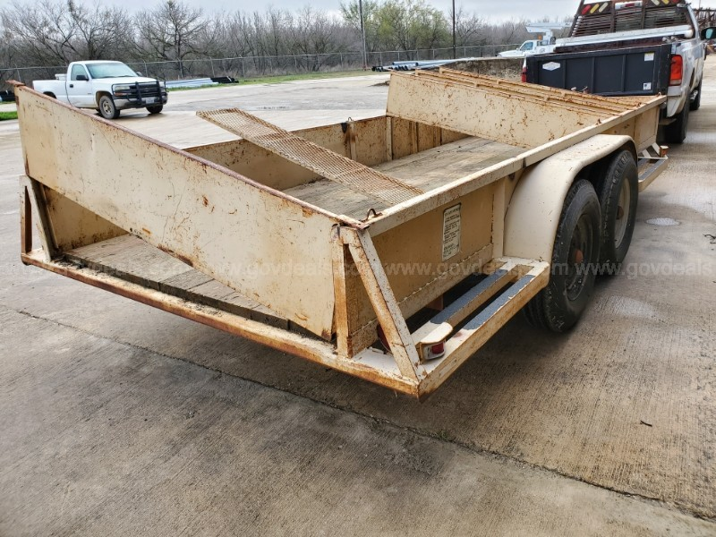 Homemade Utility Trailer