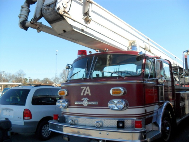 1975 American LaFrance Aerial Fire Truck