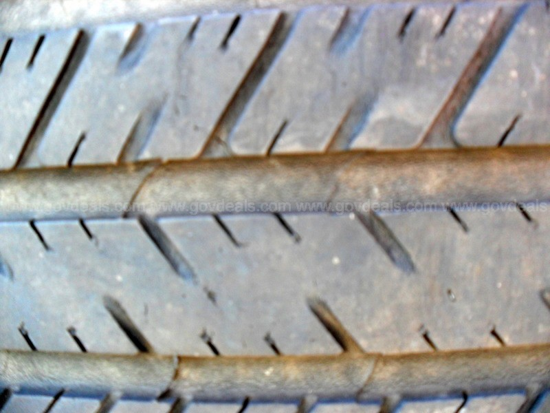 Four Goodyear Eagle RSA Tires - Size: P265-60-17