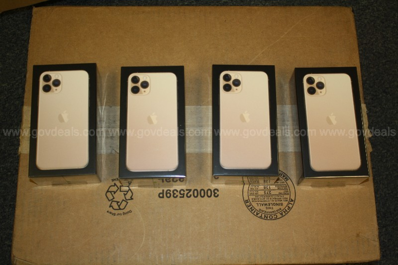 New: iPhone 11 Pro 64GB Gold x 4 each