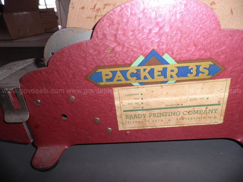 Vintage Packer 3S Tape Dispenser