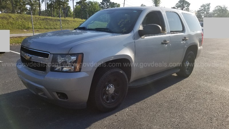 2008 Chevrolet Tahoe 2WD - Police/Special Service SUV, 4DR, 5.3L V8