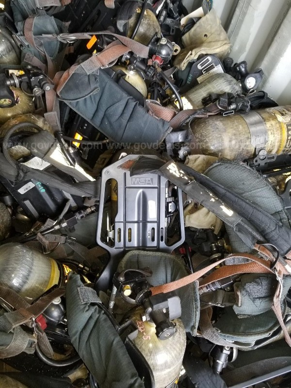 Lot of Self Contained Breathing Equipment