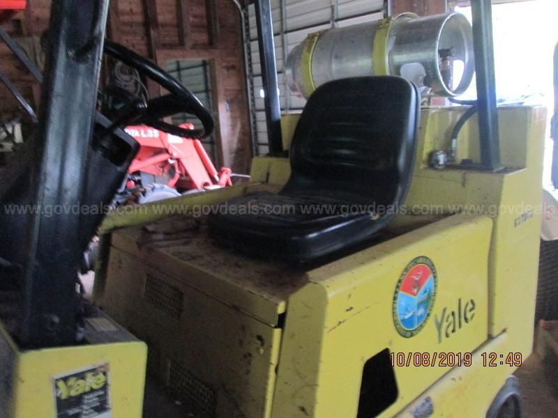 1989 Yale Warehouse LP Forklift