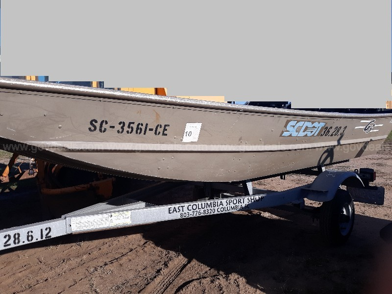 G3 boat and Wesco boat trailer