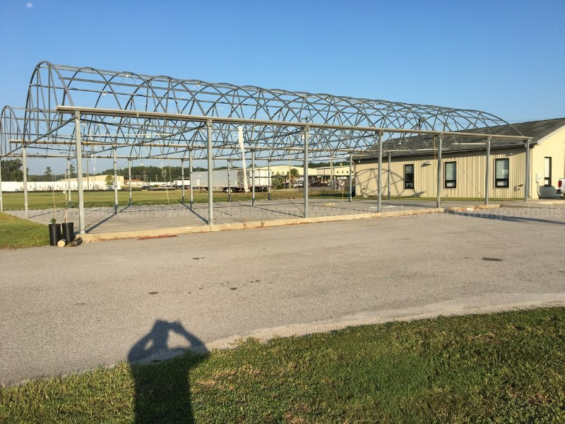 Lot of Two 30'x72'x10' Greenhouse Frames