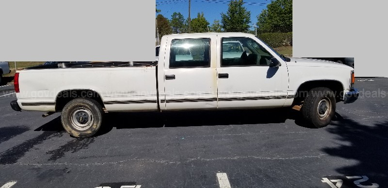 2000 Chevrolet C/K 3500 Crew Cab Long Bed 2WD 4DR, 5.7L V8