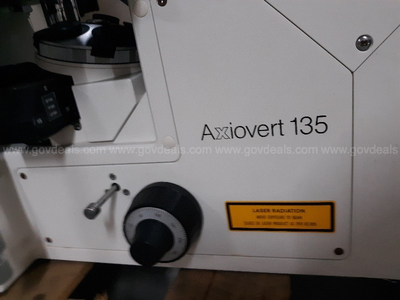 Carl Zeiss Axiovert 135 Microscope (2 pallets)